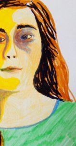 autoportrait-dessine-romane